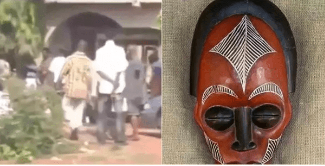 Capture 25 - Popular herbalist storms a church to collect his charm from a pastor