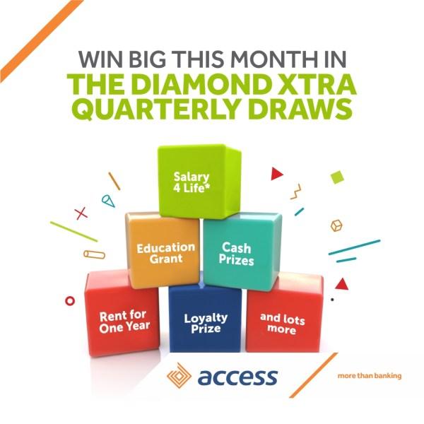 DiamondXtra Season 11 press release - ACCESS BANK TO SPLASH MILLIONS ON OVER 1000 DIAMONDXTRA CUSTOMERS THIS MONTH