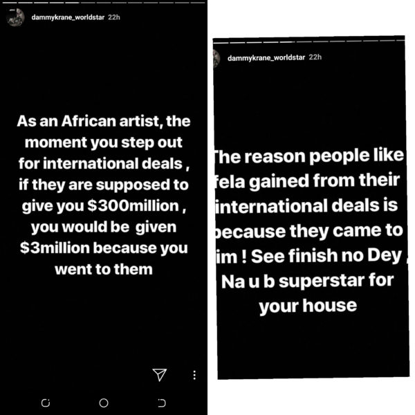 InShot 20190502 095523611 600x600 - 'No Black Man Can Make It In America' – Dammy Krane