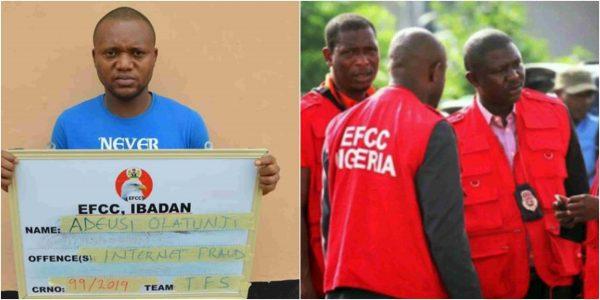 EFCC nabs Nigerian criminologist for internet fraud
