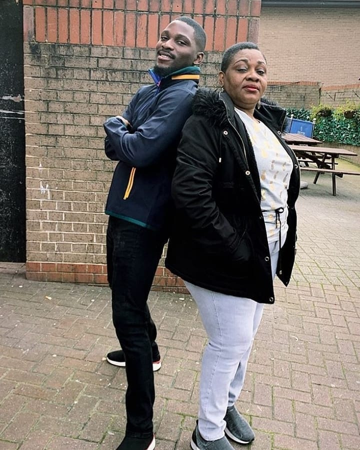 a - 'You will hurt yourself if you are policing your husband, stop!'- Tobi Bakre's mum
