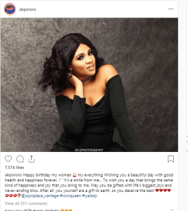akpor - Akpororo Celebrates Wife With Powerful Message