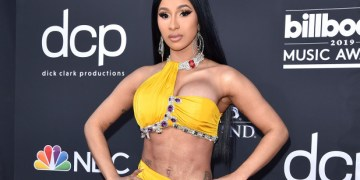 Ghanaians Throw Bottles As Cardi B Is Introduced On Stage (Video)