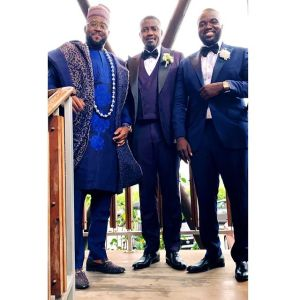 desm - [Photos]: Desmond Elliot Turned Up For John Dumelo's Wedding