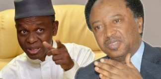 A man riding and clinging on the Horse of his Godfather is telling others how to kill the Horse of their Godfathers - Shehu Sanni Shades El-Rufai