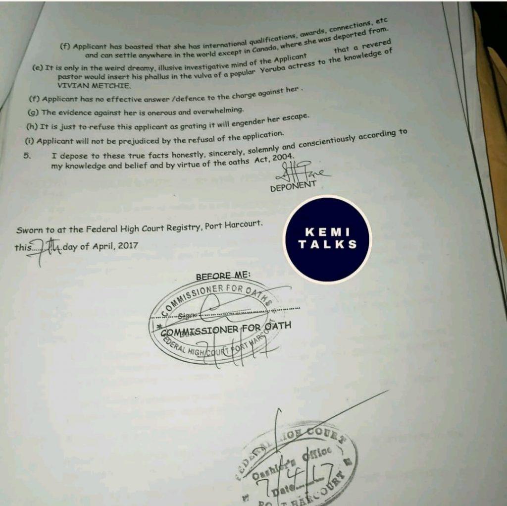 kemi olunloyo 2 3 - [Photos]: Kemi Olunloyo leaks private chats which showed Iyabo Ojo was dating Pastor Ibiyeomie