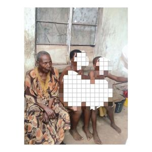 so - Shocking: 72-yr-old man caught having a threesome with primary school girls