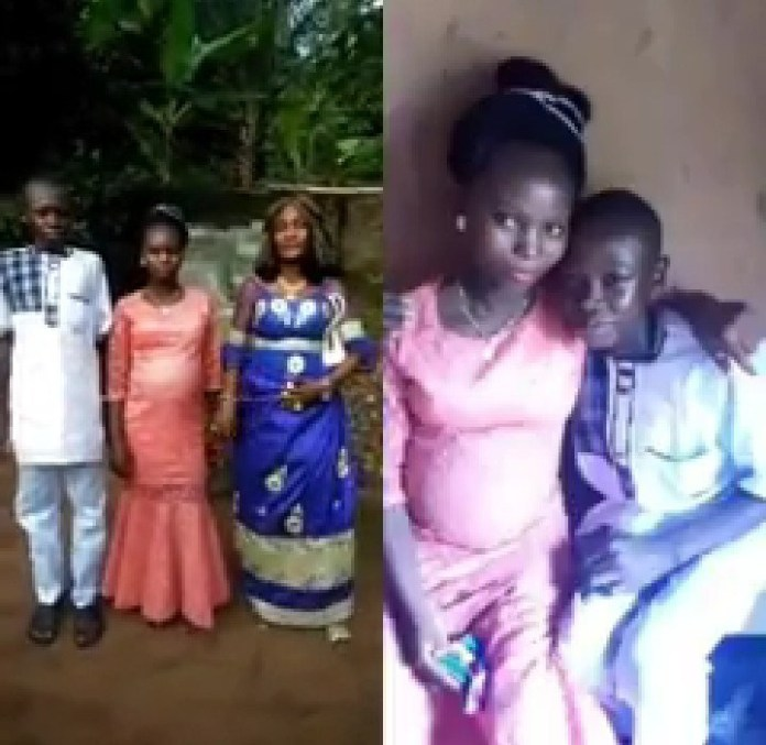 [Video]: 14-year-old forced to marry his older lover whom he impregnated