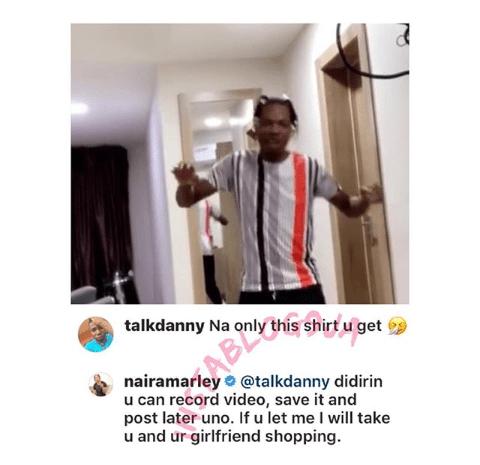 Naira Marley Slams A Fan Who Accused Him Of Repeating A Shirt