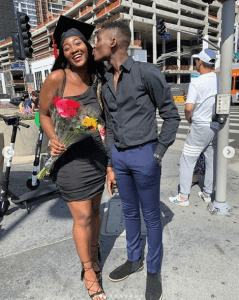 Omotola Jalade's Second Daughter, Meraiah Bags Two University degrees In One Month