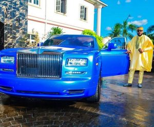 E-money and one of his cars