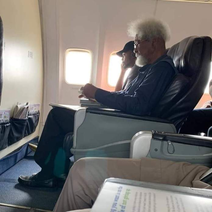 ''Why I Claimed To Be The Guy Who Ordered Wole Soyinka Off His Seat'' - Tosin Odunfa