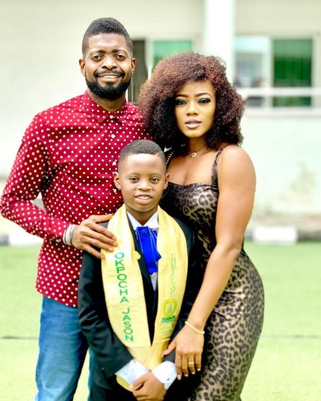 Basketmouth and his family