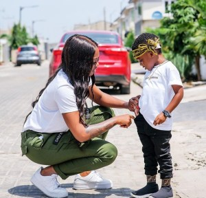 9879701 img20190722134114 jpeg4a3cbe543ad230206471850f3e5df41f - Tiwa Savage Spends Quality Time With Son After Teebillz's Remark (Video)