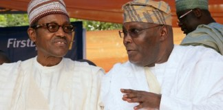 President Buhari and Atiku