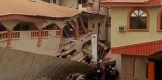 Collapsed Metro View Hotel