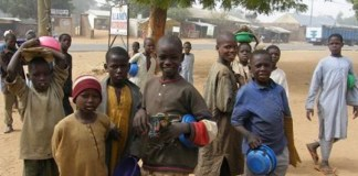 Out of school children in Nigeria