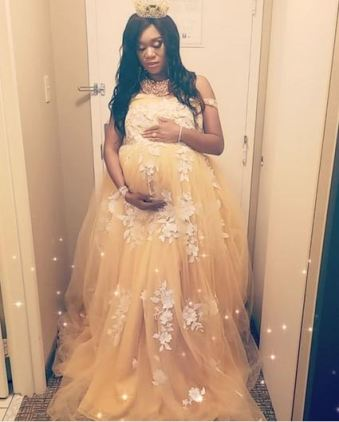 Ubi Franklin's Alleged Babymama, Sandra Iheuwa Slams Those Shaming Her For Having A Baby Shower