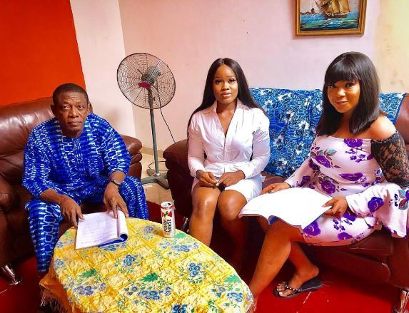 Osuofia, Cee-C and Regina Chukwu