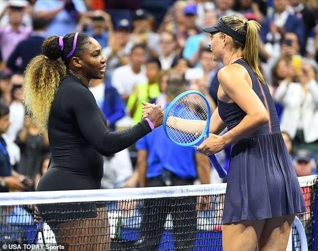 Serena Williams Beats Maria Sharapova In U.S. Open