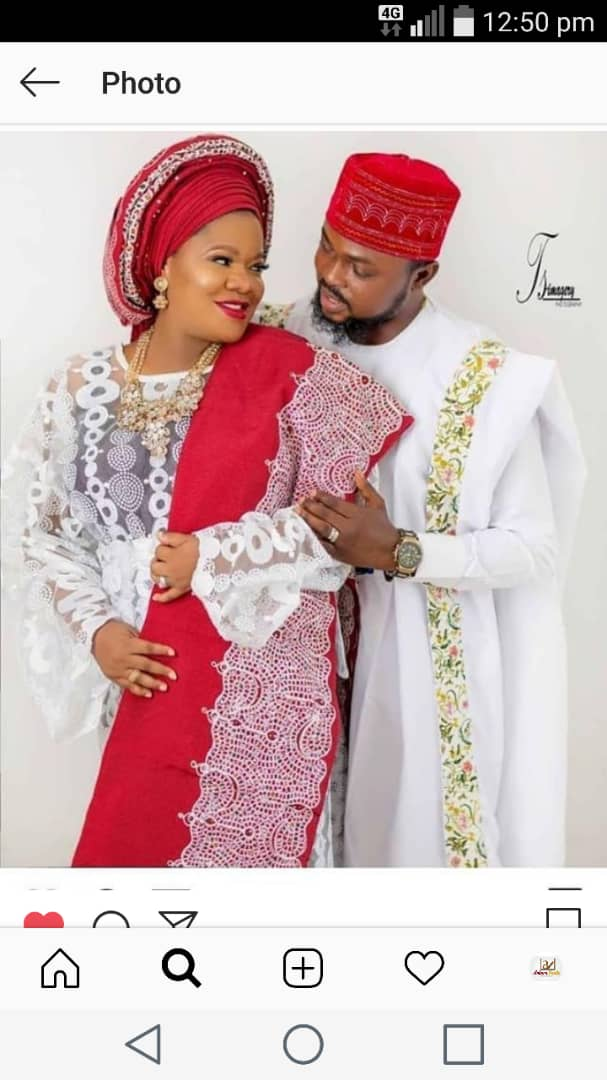 [Photo]: Toyin Aimakhu Finally Confirms Her Engagement To Kola Ajeyemi
