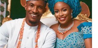 Gideon Okeke and his wife