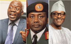 Femi Falana, Buhari and Abacha