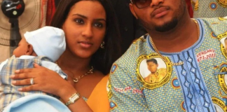 Juliet Ibrahim and ex-husband, Kwadwo Safo