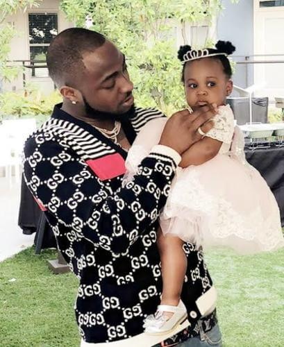 Hailey Adeleke - Davido Shows Off His Second Daughter, Hailey
