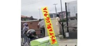Nigerians at Shoprite