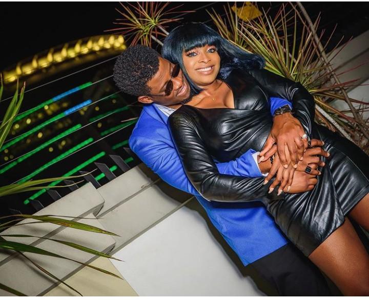 Seyi and girlfriend, Adeshola