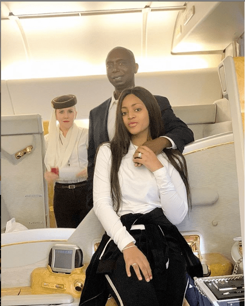 Regina Daniels and her husband, Ned Nwoko