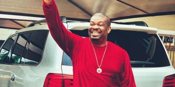 Don Jazzy Hangs Out With Tacha (Pictures)