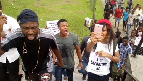 , Extorted Software Developer, Others Team Up To Fight Against SARS Brutality, All 9ja