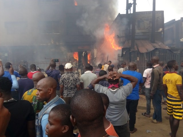 Onitsha fire incident