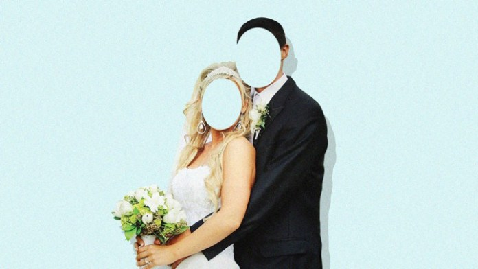 Wedding photo for illustration