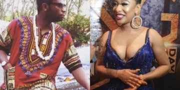 Tonto Dikeh Reacts To Speed's Darlington's Sex Request (Photograph)