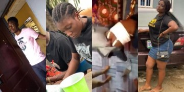 Video Of FUTA Students Arrested For Gang Beating 100L Female Student