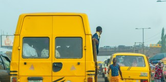 Lagos Bus Conductor