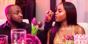 Davido Reunites With Chioma After The Birth Of Their Son