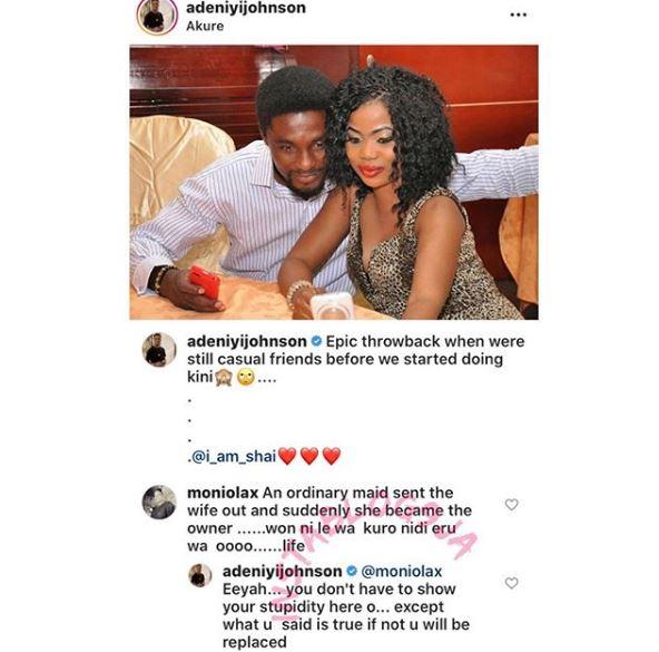 , Actor Adeniyi Johnson Places Curse On Fan Of Ex-Wife, Toyin Aimakhu, All 9ja