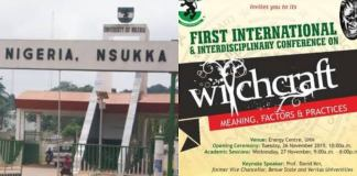 Witchcraft conference, UNN