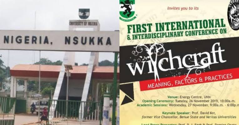 UNN Cancels Venue For Witchcraft Conference