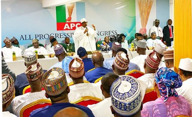 APC Must Not Die After My Tenure, Buhari Charges Party Leaders