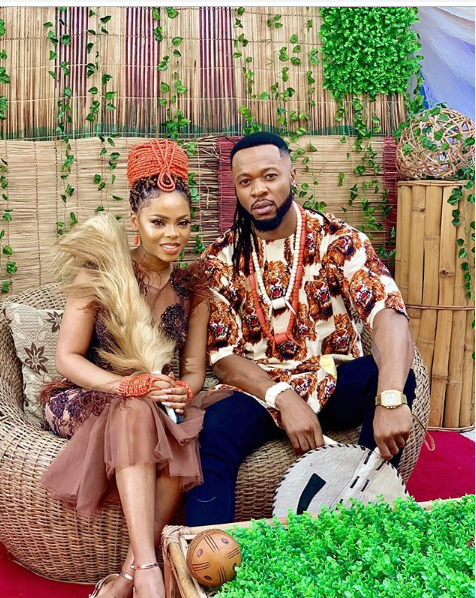 Twitter Agog Over Romantic Photos Of Chidinma And Flavour
