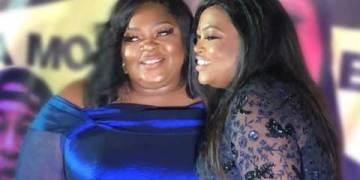 Nollywood Actresses, Eniola Badmus, Funke Akindele Settle Beef (Photograph)