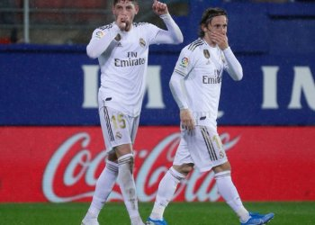 Real Madrid Move Provisionally To The Top Of Table Following Victory Over Espanyol
