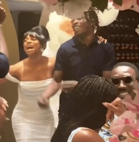 , Toke Makinwa Excited As Naira Marley Surprises Her During Her Birthday Bash (VIDEO), All 9ja