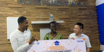 TECNO, IManage Africa and ScholarX fulfilled their promise as they reward winners in the AcadaFest Scholarship 2019