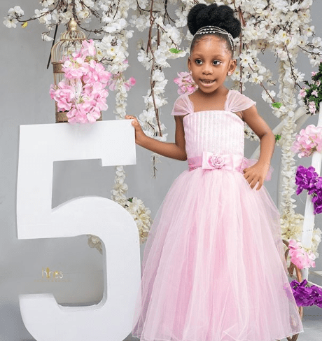 Nuella Njigbo Celebrates Her Daughter As She Turns 5